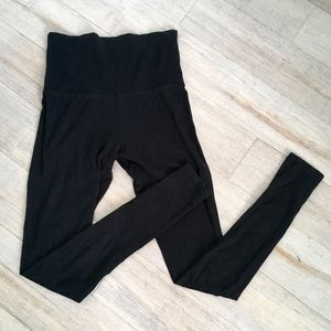 Mossimo High-Waisted Black Leggings Size XS
